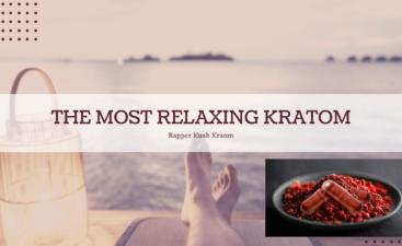 Relaxing Kraton- Red Vein Kratom